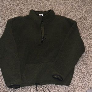 Furry pullover